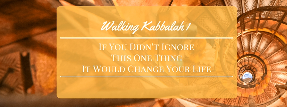 If You Didn't Ignore This One Thing, It Would Change Your Life